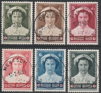 912/917 Princes Joséphine Charlotte Oblit/gestp Centrale