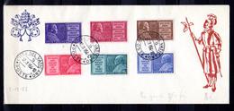 1954   Année Mariale, 194 / 199 Sur Lettre,  Cote 7,50 €,