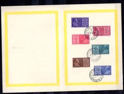1954   Année Mariale, 2 X 194 / 199 Sur Feuillet Cote 15 €