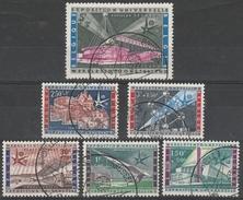 1047/1052 Wereldtentoonstelling 1958 Oblit/gestp