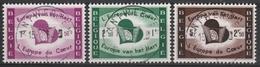 1090/1092 L'Europe Du Coeur /Europa V/h Hart Oblit/gestp Centrale