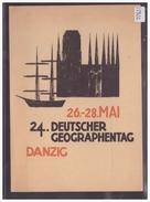 GRÖSSE 10x15cm - DANZIG - GDANSK - 24. DEUTSCHER GEOGRAPHENTAG   - TB - Polen