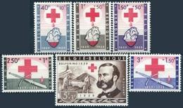 Y&T  N° 1096-1101 * Croix-rouge
