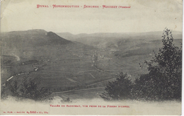 CPA 88 ( Vosges ) -  ETIVAL - MOYENMOUTIER - SENONES - MOUSSEY - Vallée Du Rabodeau, Vue Prise De La Pierre D'Appel - Senones