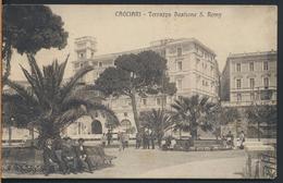°°° 5744 - CAGLIARI - TERRAZZA BASTIONE S. REMY - 1916 °°° - Cagliari