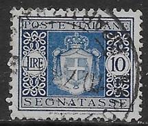 Italia Italy 1934 Regno Segnatasse Stemma Con Fasci L10 Sa N.S45 US