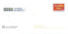 PAP De Service Hors Commerce VOEUX 2008 De La Poste Neuf** Avec La Carte De Voeux