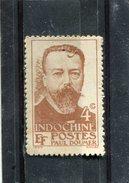 INDO-CHINA. 1944. SCOTT 254. GOVERNOR-GENERAL PAUL DOUMER - Unused Stamps