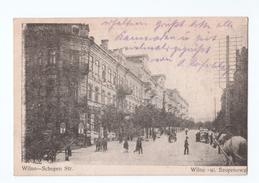 Lithuania - Wilno - Vilnius - Schopen Str. - Shopping Street  - Restaurant - 1915 - Litouwen