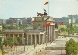 Berlin Brandenburger Tor Mit Mauer - Non Classés