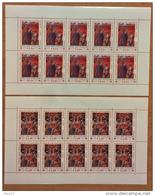 Vaticano 2004 Sass. 1332/33 Minifogli Da 10 **/MNH VF
