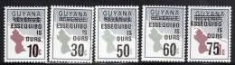 GUYANA - N°606/10  ** (1981) - Guyana (1966-...)