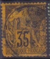 YT56 Alphee Dubois 35c - Inde Pondichery