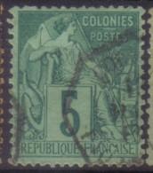 YT49 Alphee Dubois 5c - Maritime Col. Fr. Paq. Fr