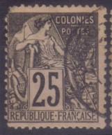 YT54 Alphee Dubois Noir 25c - Benin Porto Novo