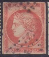 YT21 Ceres 80c - Losange MQE Martinique - Aigle Impérial