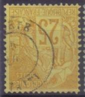 YT53 Alphee Dubois Jaune 25c - Papeete Taiti