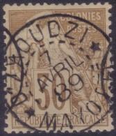 YT55 Alphee Dubois 30c - Mayotte Dzaoudzi