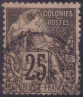 YT54 Alphee Dubois Noir 25c - Cachet A Date