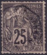 YT54 Alphee Dubois Noir 25c - Cachet Correspondance D'armees