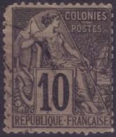 YT50 Alphee Dubois 10c - Cachet A Date Noir
