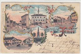 Gruss Aus Hemau - 1901        (A-36-150108) - Germania
