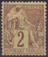 YT47 Alphee Dubois 2c - Cachet A Date Noir