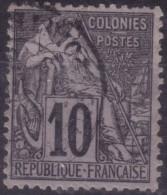 YT50 Alphee Dubois 10c - Guadeloupe Pointe A Pitre