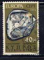 CHYPRE - 402° - EUROPA / RAPT D'EUROPE SUR PIECE
