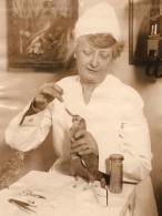 New York Veterinaire Florence Jenkins Specialiste Des Oiseaux Ancienne Photo 1927 - Professions