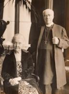 Royaume Uni Archevêque Lord Davidson Et Sa Femme Edith Tait Ancienne Photo 1930 - Famous People