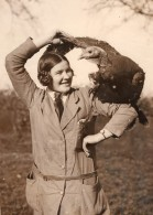 Angleterre Welwyn Aviculture Elevage Dinde De Noel Ancienne Photo 1930 - Professions