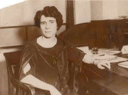 Sociologue Esther Everett Lape American Peace Award Ancienne Photo 1930 - Professions