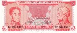 Venezuela 1989, 5 Bolívares (UNC) - CF2214 - Venezuela