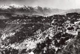 Inde Darjeeling Panorama De La Chaine De L'Himalaya Ancienne Photo Trampus 1930 - Places