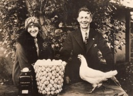 Canada Port Kells Eleveurs De Poules Pondeuses Record Ancienne Photo 1931 - Professions