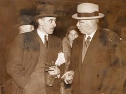 Royaume Uni Politicien J.H. Thomas Conference Sur Le Desarmement A Geneve Ancienne Photo 1932 - Famous People