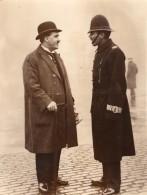 Londres Parlement Depute Policier Jack Hayes De Liverpool Ancienne Photo 1930 - Professions