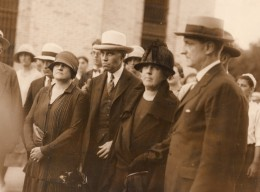New Jersey Somerville Affaire Hall-Mills Meurtre Mme Hall Et Avocats Ancienne Photo 1926 - Professions