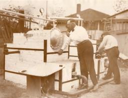 USA Los Angeles Inventeur Daniel Hoge Rafinerie Nouvelle Essence Vegetale Ancienne Photo 1928 - Professions