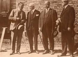Politique Lord Birkenhead J.W. Davis Chief Justice Taft Charles Evans Hughes Ancienne Photo 1925