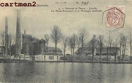 JARVILLE ENVIRONS DE NANCY HAUTS-FOURNEAUX MONTAGNE ARTIFICIELLE 54 - Francia