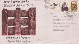 A193 - Inde - Enveloppe De Bhopal Le 27/09/1961