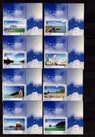 Sepac 2014 Jersey - Jersey Seasons - Summer - Lighthouses, Sea Shore, Castles Of Jersey - Set Of 8 V - Paper - MNH**
