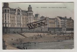 Oostende (drie Kaarten Glanzend Zie Scans N° 1123/1100/1189)