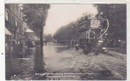 Deluge At Norbury - Sunday, June 14, 1914      (A-36-150129) - London