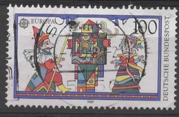N° 1250 O Y&T 1989 EUROPA Jeux D'enfants