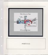 PORTUGAL  - BLOC 1991 HISTORIA DAS COMUNICACOES EM PORTUGAL - MNH**  AVEC COMMENTAIRES / TBS - Blocchi & Foglietti