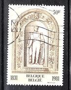Belgio   -   1981. Statua Di Re Leopoldo 1^.  Statue Of King Leopold 1 ^.