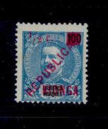 ! ! Kionga - 1916 King Carlos 1/2 C - Af. 01 - NGAI - Kionga